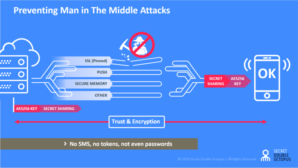 Preventing Man in The Middle Attacks - Secret Double Octops